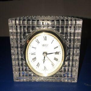 Other - Mikasa Crystal Desk Clock